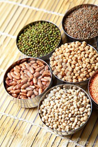 vegan iron sources beans and lentils