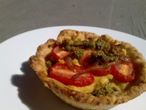 Post image for A Vegan Savoury Tart for The Last Days of Summer… sigh.