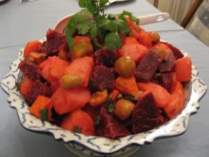 Upbeet Chestnutty Potato Salad