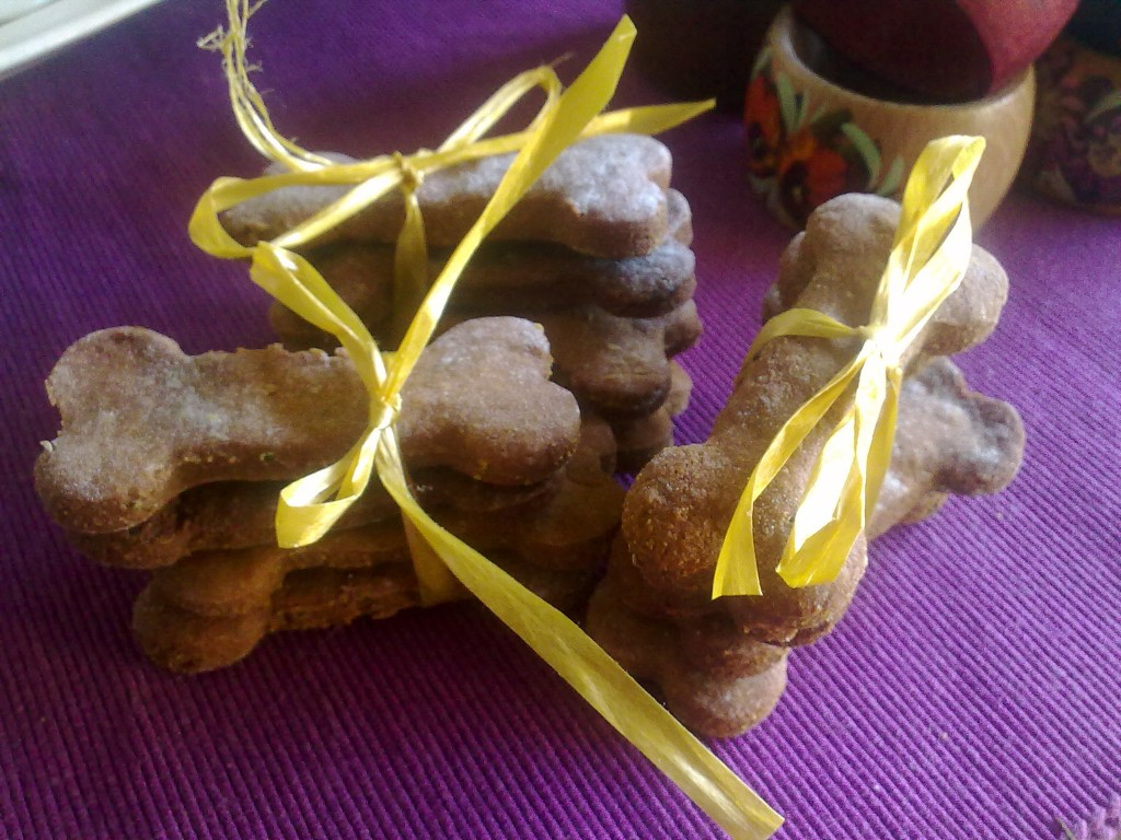 vegan dog cookies