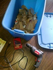 Post image for Building a Low-Cost Worm Composting System on the Balcony