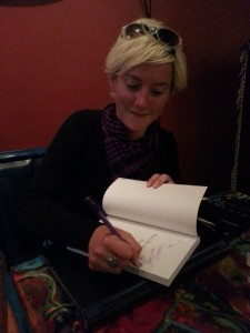 My book signing!