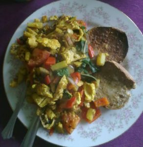 Post image for Tofu Scramble – the ultimate weekend breakfast