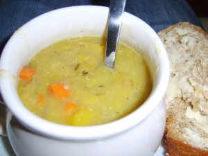 sweet curried squash soup